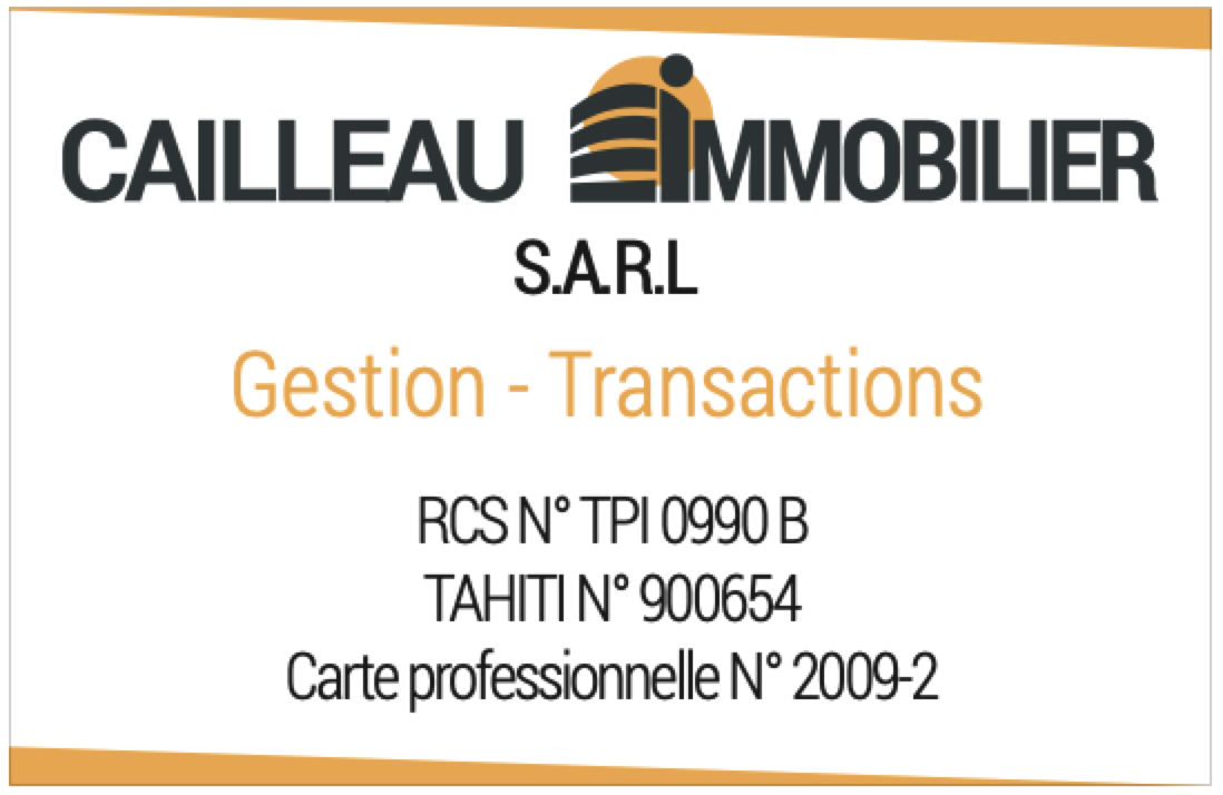 CAILLEAU IMMOBILIER